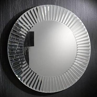 Для дома и интерьера ручной работы. Ярмарка Мастеров - ручная работа Зеркало-солнце из зеркальных элементов. Handmade.