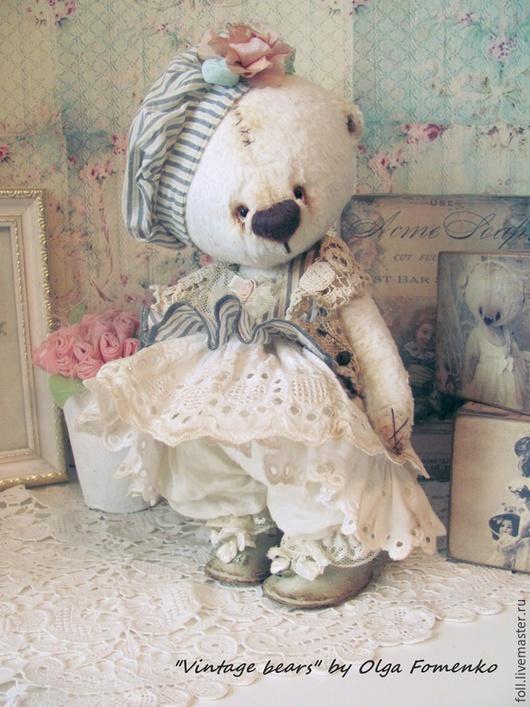 Мишки Тедди ручной работы. Ярмарка Мастеров - ручная работа. Купить Мишка Фаня. Handmade. Мишка, подарок, розовый, вискоза