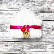 Аксессуары handmade. Livemaster - original item Knitted cap from mohair