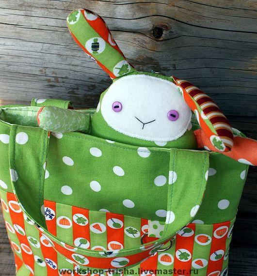 Детские аксессуары ручной работы. Ярмарка Мастеров - ручная работа. Купить Комплект для девочки: сумочка+ игрушка. Handmade. Детская сумочка