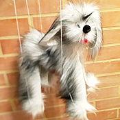 Кукольный театр ручной работы. Ярмарка Мастеров - ручная работа Кукольный театр: Собачка марионетка. Handmade.