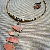 Украшения handmade. Livemaster - original item necklace-choker ( gift) zlato skifov. Handmade.
