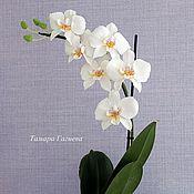 Цветы и флористика ручной работы. Ярмарка Мастеров - ручная работа Орхидея Фаленопсис. Handmade.