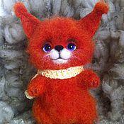 Куклы и игрушки ручной работы. Ярмарка Мастеров - ручная работа Валяная игрушка Барбариска. Handmade.