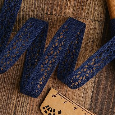 Материалы для творчества ручной работы. Ярмарка Мастеров - ручная работа Тесьма вязаная 15 мм (разные цвета). Handmade.