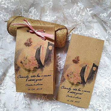 Свадебный салон ручной работы. Ярмарка Мастеров - ручная работа Бонбоньерки: свадебные бонбоньерки. Handmade.