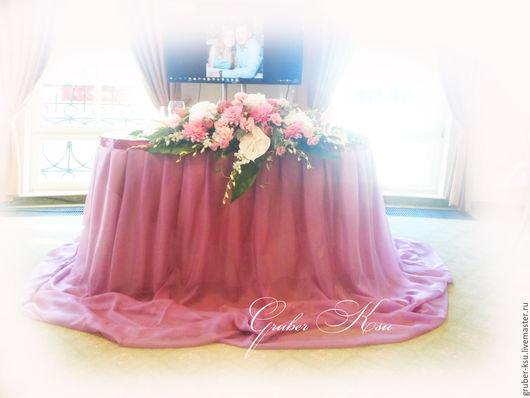 Свадебные аксессуары ручной работы. Ярмарка Мастеров - ручная работа. Купить Пепел розы Оформление свадебного зала. Handmade.