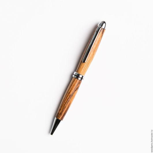 """Карандаши, ручки ручной работы. Ярмарка Мастеров - ручная работа. Купить Авторучка """" Зебрано Слим"""". Handmade. Бежевый"""