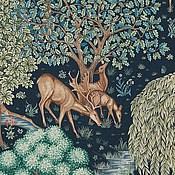 Материалы для творчества ручной работы. Ярмарка Мастеров - ручная работа Английская ткань William Morris The Brook. Handmade.