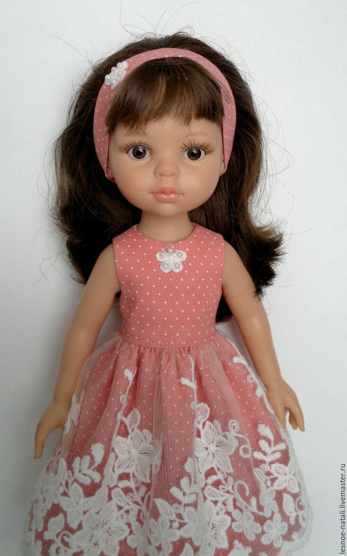 Платья с кружевами для кукол