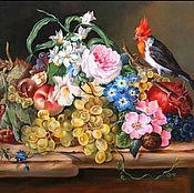 """Картины и панно ручной работы. Ярмарка Мастеров - ручная работа Картина маслом на холсте """"Голландский натюрморт"""" 40/50см. Handmade."""