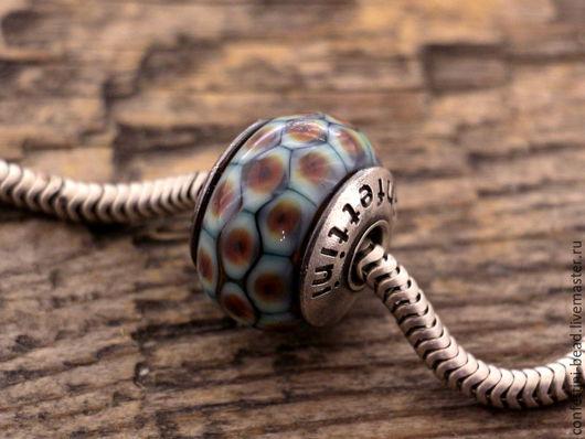 """Браслеты ручной работы. Ярмарка Мастеров - ручная работа. Купить """"Мозаика"""" бусина для браслетов. Handmade. Разноцветный, confettini, европейский браслет"""