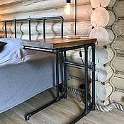 Для дома и интерьера handmade. Livemaster - original item Bedside table made of solid pine (project
