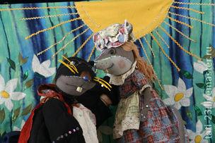 Кукольный театр ручной работы. Ярмарка Мастеров - ручная работа. Купить Спектакль Дюймовочка. Handmade. Театральная кукла, театр, спектакль