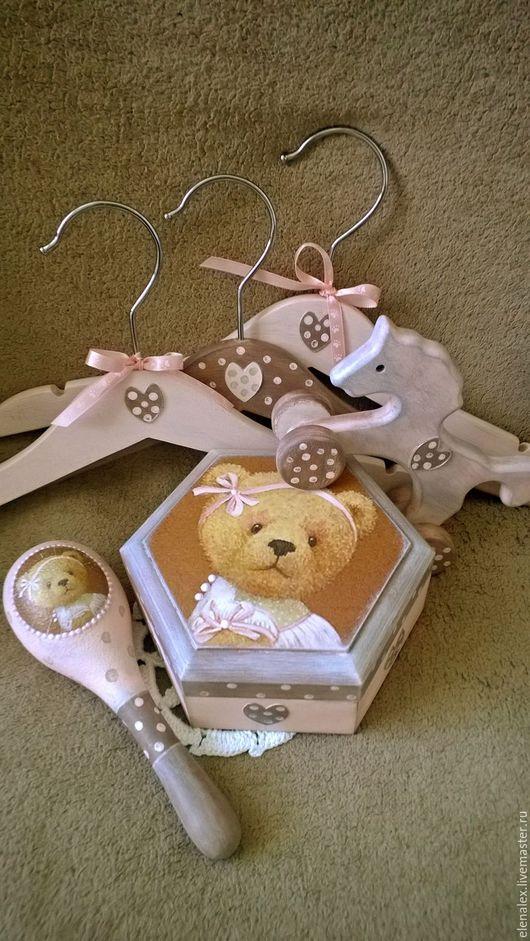 """Подарки для новорожденных, ручной работы. Ярмарка Мастеров - ручная работа. Купить Набор для новорожденного """"Машуля"""". Handmade. Комбинированный, подарок на крестины"""