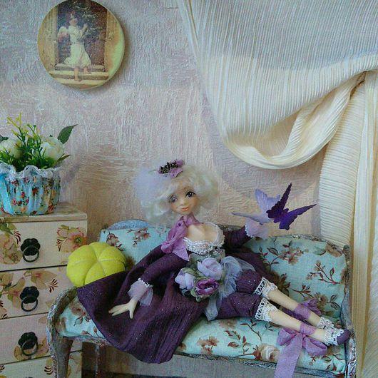 Коллекционные куклы ручной работы. Ярмарка Мастеров - ручная работа. Купить Коллекционная кукла Принцесса Fleur. Handmade.