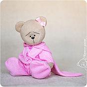 Куклы и игрушки handmade. Livemaster - original item Teddy Bear the Bunny to Sleep With - RESERVED. Handmade.