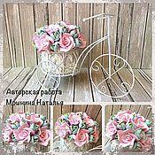 Для дома и интерьера ручной работы. Ярмарка Мастеров - ручная работа Велосипед роз. Handmade.