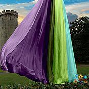 """Одежда ручной работы. Ярмарка Мастеров - ручная работа шифоновая юбка в пол """"Луговые травы"""" 10-клинка. Handmade."""