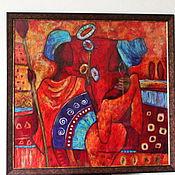 Картины и панно ручной работы. Ярмарка Мастеров - ручная работа Африканские мотивы. Handmade.