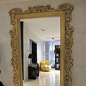 Для дома и интерьера ручной работы. Ярмарка Мастеров - ручная работа Зеркало в резной раме. Handmade.