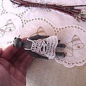 Куклы и игрушки ручной работы. Ярмарка Мастеров - ручная работа Шарнирная кошечка Бетти. Handmade.