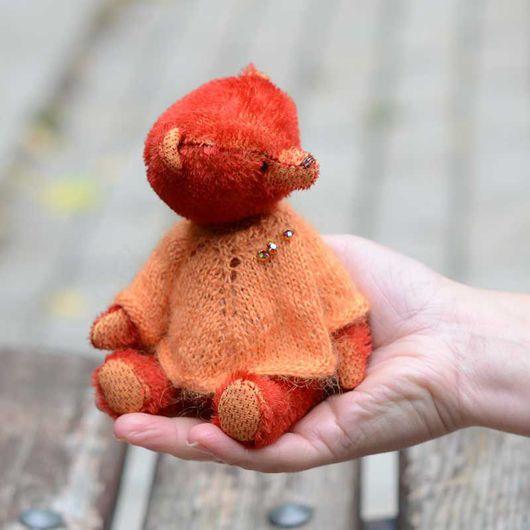 мишка Изабель 15 см, автор Гузель Костына