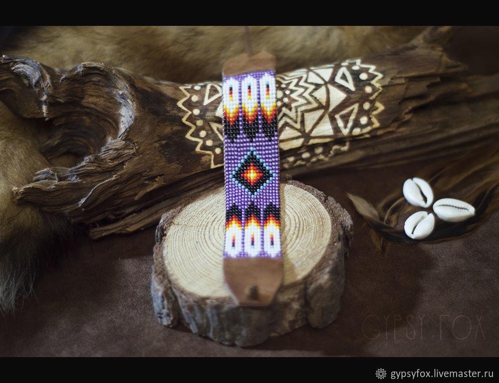 Beaded bracelet. Indian style, Bead bracelet, Tyumen,  Фото №1