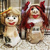 Мягкие игрушки ручной работы. Ярмарка Мастеров - ручная работа Кукла в чулочно-текстильной технике. Handmade.