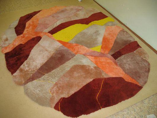 """Текстиль, ковры ручной работы. Ярмарка Мастеров - ручная работа. Купить Ковер """"Лара"""". Handmade. Ткань"""