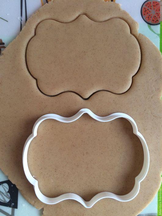 Кухня ручной работы. Ярмарка Мастеров - ручная работа. Купить Форма для печенья Рамка с узором 1. Handmade. Разноцветный