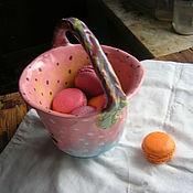 """Конфетницы ручной работы. Ярмарка Мастеров - ручная работа Berry Bowl корзиночка """"Рассвет"""". Handmade."""