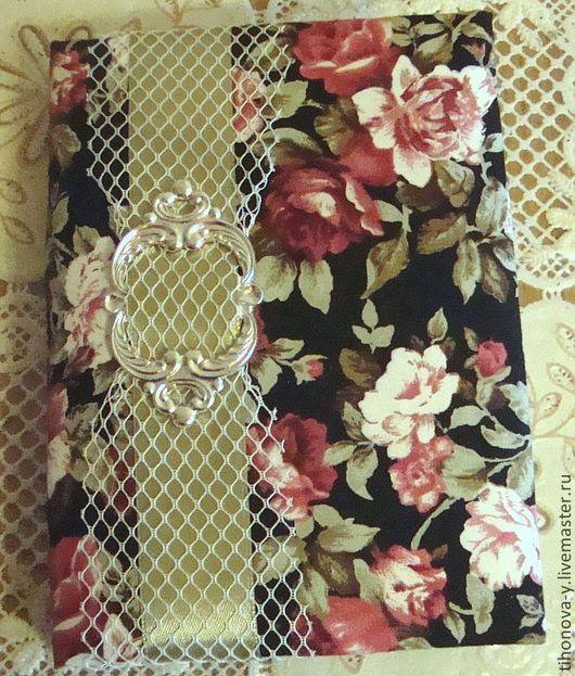 Блокноты ручной работы. Ярмарка Мастеров - ручная работа. Купить Блокнот винтажный. Handmade. Винтажный стиль, тканевая обложка