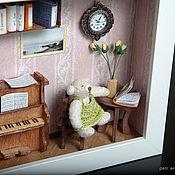 Куклы и игрушки ручной работы. Ярмарка Мастеров - ручная работа Пианистка. Handmade.