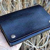 Сумки и аксессуары handmade. Livemaster - original item Men`s leather waist mini bag. Handmade.