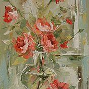 Картины и панно handmade. Livemaster - original item roses. Handmade.