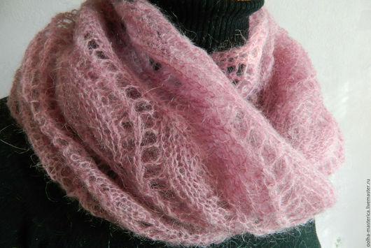 Шарфы и шарфики ручной работы. Ярмарка Мастеров - ручная работа. Купить Снуд-шарф. Handmade. Снуд, снуд спицами, теплый