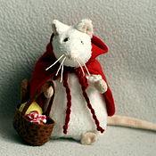 handmade. Livemaster - original item Little Red Riding Hood goes to see his grandmother. Handmade.