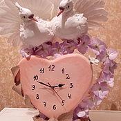 Украшения ручной работы. Ярмарка Мастеров - ручная работа Целующиеся голуби. Handmade.