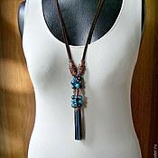 Украшения handmade. Livemaster - original item Pendant-pendant Boho. Turquoise. Handmade.