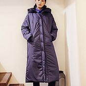Одежда handmade. Livemaster - original item Down jacket insulated with buttons. Handmade.
