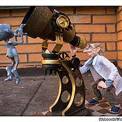 Куклы и игрушки ручной работы. Ярмарка Мастеров - ручная работа Авторская кукла «Истина где-то рядом». Handmade.