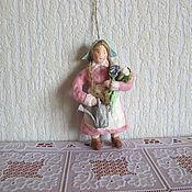 Подарки к праздникам ручной работы. Ярмарка Мастеров - ручная работа Садовница.Ватные елочные игрушки. Handmade.