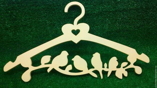 Прихожая ручной работы. Ярмарка Мастеров - ручная работа. Купить Вешалка с птичками. Handmade. Комбинированный, вешалка для платья