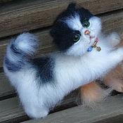 Куклы и игрушки handmade. Livemaster - original item Kitten wool MARQUIS. Handmade.