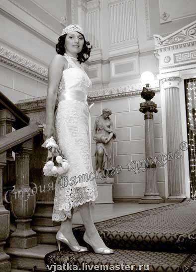 Одежда и аксессуары ручной работы. Ярмарка Мастеров - ручная работа. Купить Кружевные свадебные платья. Handmade. Свадьба, ручное кружево