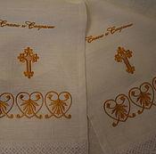 Русский стиль handmade. Livemaster - original item The towel on the icon. Handmade.