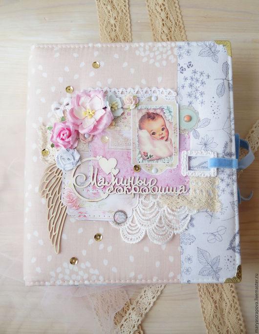 Подарки для новорожденных, ручной работы. Ярмарка Мастеров - ручная работа. Купить Мамины сокровища для девочки. Handmade. Кремовый, ручная работа