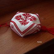 Сувениры и подарки ручной работы. Ярмарка Мастеров - ручная работа Бискорню с орнаментом. Handmade.