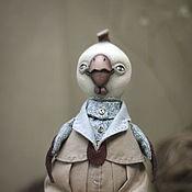 Куклы и пупсы ручной работы. Ярмарка Мастеров - ручная работа Кукла авторская петушок Пантелей. Handmade.